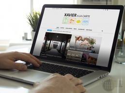 Xavier à la carte-webdesign CreativeWebCrew