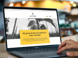 Let-it-beer-webdesign CreativeWebCrew
